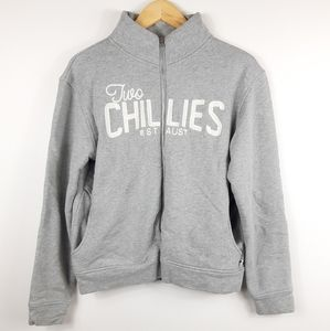 2CHILLIES Sweatshirt Australia Gray Full Zip-Up